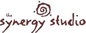 synergy logo in brown